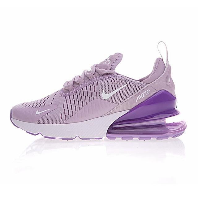 timeless design 5b87b 2a1d9 Nike Air Max 270 Women's Breathable Running Shoes Sneakers Sport Outdoor  Athletic 2018 New Women Designer Sneakers AH8050