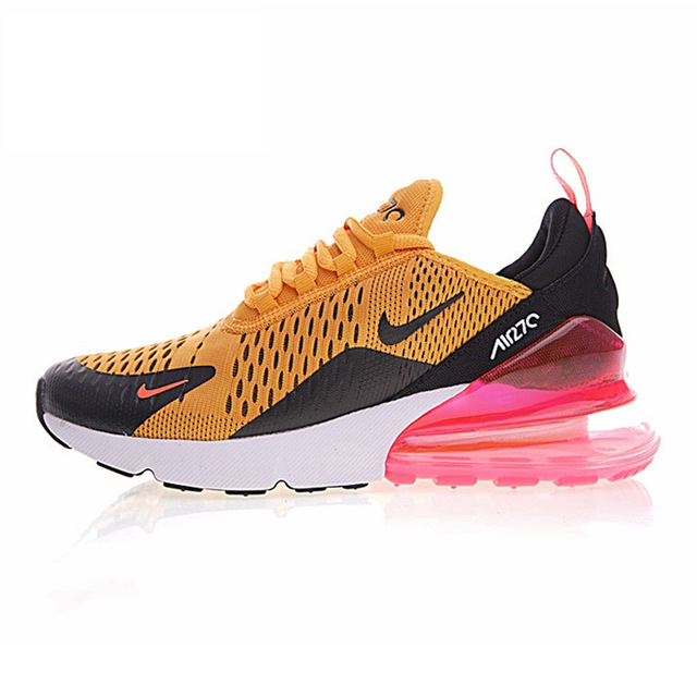 timeless design 9a3a6 0cd13 Nike Air Max 270 Women's Breathable Running Shoes Sneakers Sport Outdoor  Athletic 2018 New Women Designer Sneakers AH8050