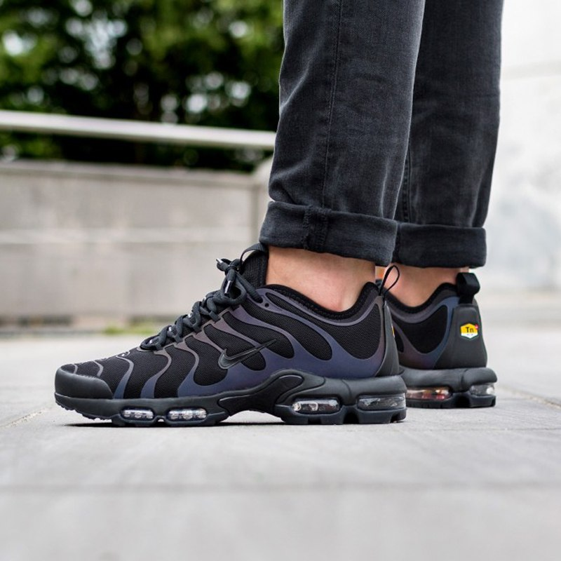 official photos 6348a 2a453 Original Authentic Nike Air Max Plus Tn Ultra 3M Men's Running Shoes Sport  Outdoor Sneakers Designer 2018 New Arrival 898015-102